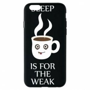 Etui na iPhone 6/6S Sleep is for the weak