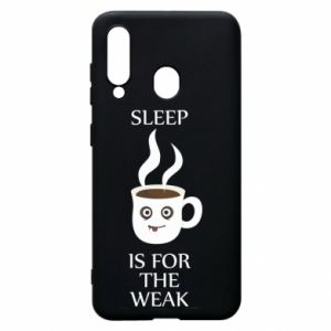 Etui na Samsung A60 Sleep is for the weak