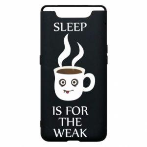 Etui na Samsung A80 Sleep is for the weak