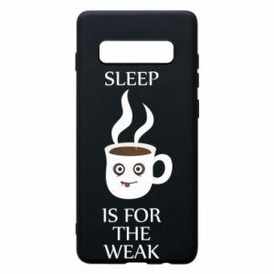 Etui na Samsung S10+ Sleep is for the weak