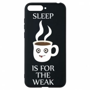 Etui na Huawei Y6 2018 Sleep is for the weak