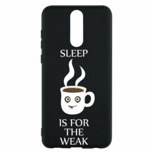 Etui na Huawei Mate 10 Lite Sleep is for the weak