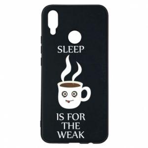 Etui na Huawei P Smart Plus Sleep is for the weak