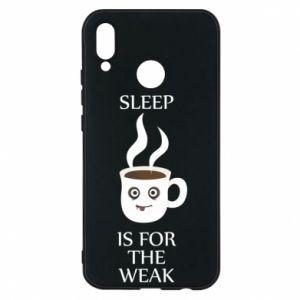 Etui na Huawei P20 Lite Sleep is for the weak
