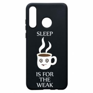 Etui na Huawei P30 Lite Sleep is for the weak