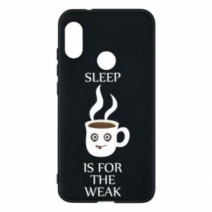 Etui na Mi A2 Lite Sleep is for the weak