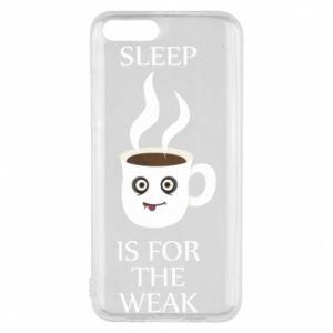 Etui na Xiaomi Mi6 Sleep is for the weak