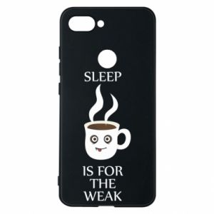 Etui na Xiaomi Mi8 Lite Sleep is for the weak
