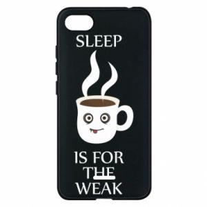 Etui na Xiaomi Redmi 6A Sleep is for the weak