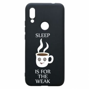 Etui na Xiaomi Redmi 7 Sleep is for the weak