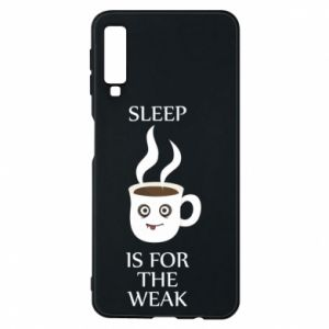 Etui na Samsung A7 2018 Sleep is for the weak
