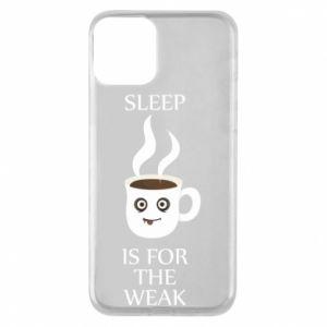 Etui na iPhone 11 Sleep is for the weak