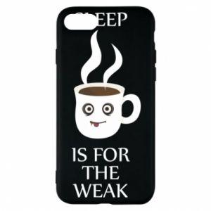 Etui na iPhone 8 Sleep is for the weak