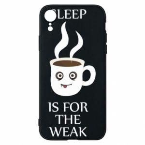 Etui na iPhone XR Sleep is for the weak