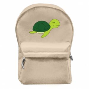 Plecak z przednią kieszenią Sleeping turtle