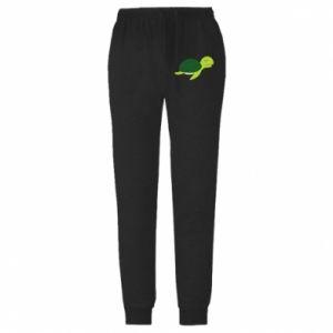 Męskie spodnie lekkie Sleeping turtle - PrintSalon