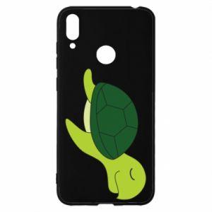 Etui na Huawei Y7 2019 Sleeping turtle