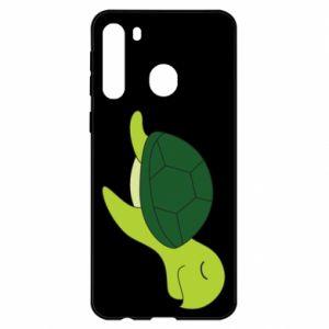Etui na Samsung A21 Sleeping turtle