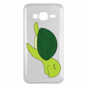 Etui na Samsung J3 2016 Sleeping turtle