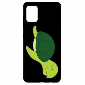 Etui na Samsung A51 Sleeping turtle
