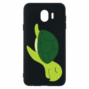 Etui na Samsung J4 Sleeping turtle