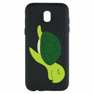 Etui na Samsung J5 2017 Sleeping turtle