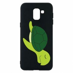 Etui na Samsung J6 Sleeping turtle