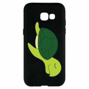 Phone case for Samsung A5 2017 Sleeping turtle - PrintSalon