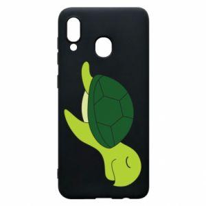 Etui na Samsung A20 Sleeping turtle