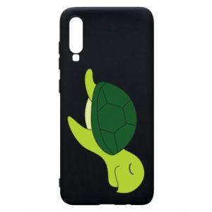 Etui na Samsung A70 Sleeping turtle