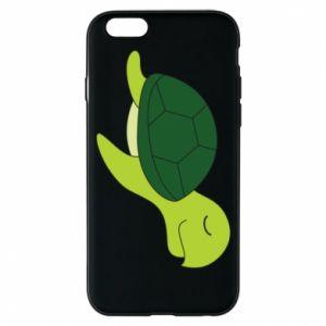 Phone case for iPhone 6/6S Sleeping turtle - PrintSalon