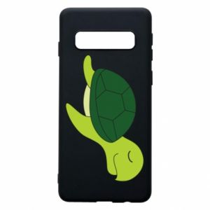 Etui na Samsung S10 Sleeping turtle