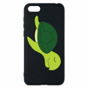 Phone case for Huawei Y5 2018 Sleeping turtle - PrintSalon