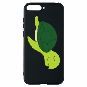 Phone case for Huawei Y6 2018 Sleeping turtle - PrintSalon