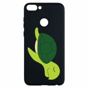 Etui na Huawei P Smart Sleeping turtle