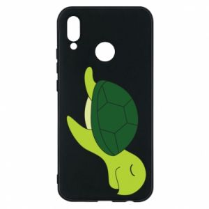 Phone case for Huawei P20 Lite Sleeping turtle - PrintSalon