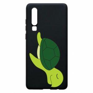 Phone case for Huawei P30 Sleeping turtle - PrintSalon