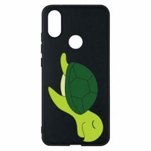 Phone case for Xiaomi Mi A2 Sleeping turtle - PrintSalon