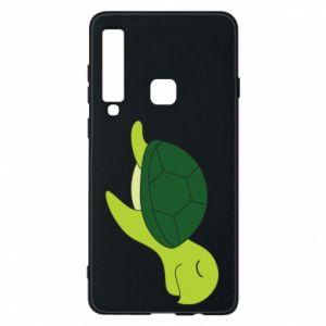 Phone case for Samsung A9 2018 Sleeping turtle - PrintSalon