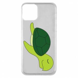 Etui na iPhone 11 Sleeping turtle