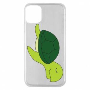 Etui na iPhone 11 Pro Sleeping turtle