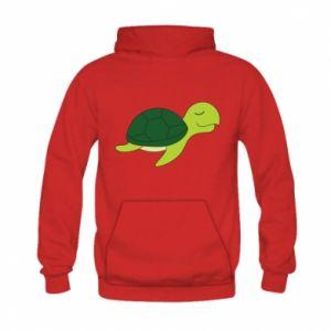 Bluza z kapturem dziecięca Sleeping turtle
