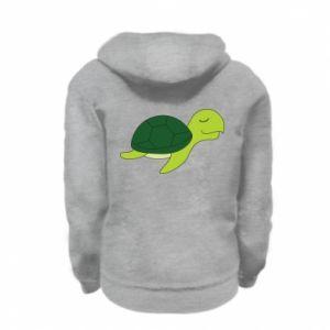 Bluza na zamek dziecięca Sleeping turtle