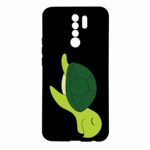 Etui na Xiaomi Redmi 9 Sleeping turtle