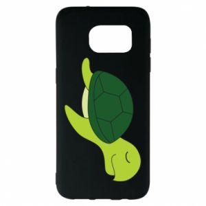 Etui na Samsung S7 EDGE Sleeping turtle