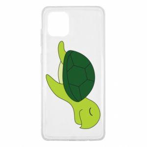Etui na Samsung Note 10 Lite Sleeping turtle