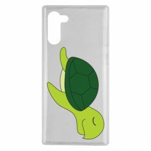 Etui na Samsung Note 10 Sleeping turtle
