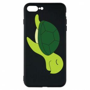Etui na iPhone 8 Plus Sleeping turtle