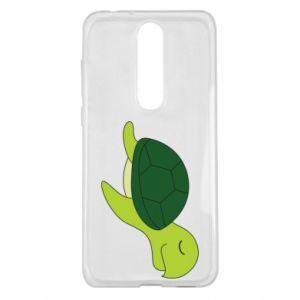 Etui na Nokia 5.1 Plus Sleeping turtle