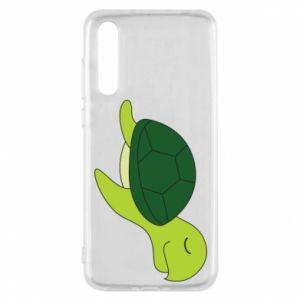 Etui na Huawei P20 Pro Sleeping turtle